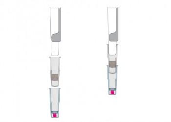 4-attach S capsule to pipettor